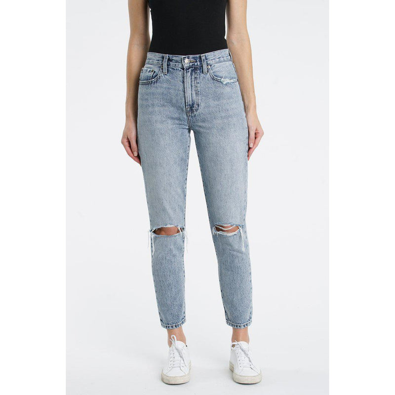 Nico High Rise Mom Jeans (Wanderer)