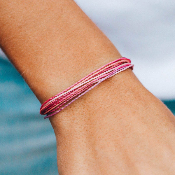 Pura Vida Stop and Smell the Roses Bracelet