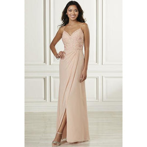 Wrap Skirt Bridesmaid Dress