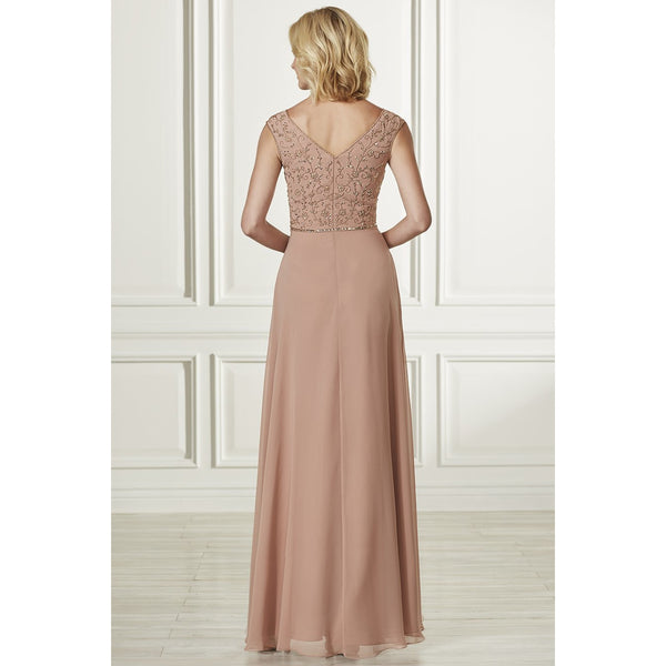 Cap Sleeve Formal Gown