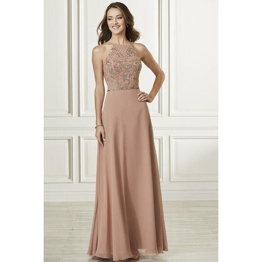 High Neck Formal Gown