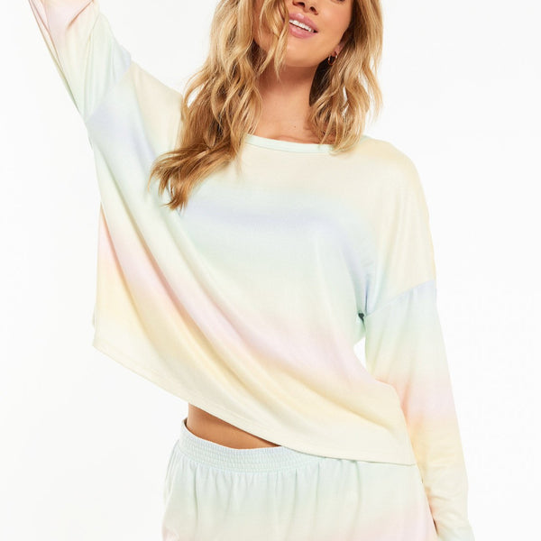 Skylar Rainbow Long Sleeve Top