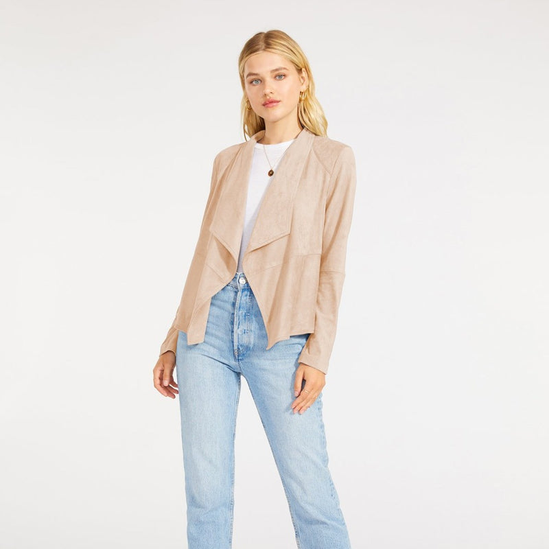 Suede It Out Blazer
