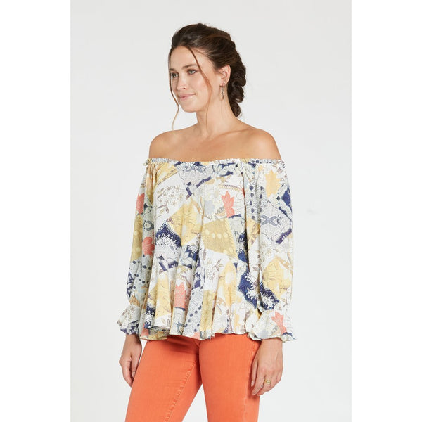 Cora Patchwork Top