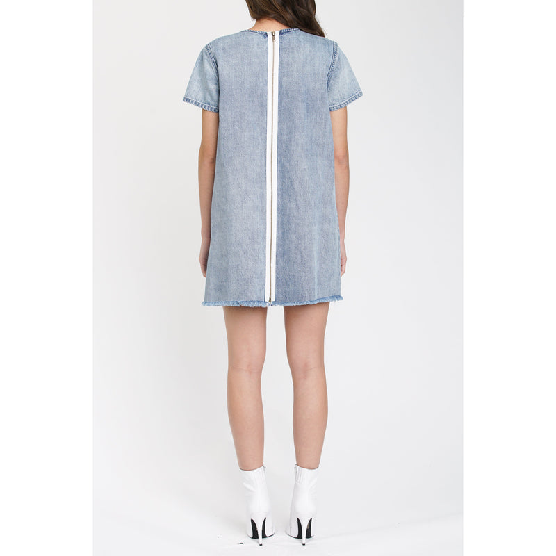 Gemma Short Sleeve Denim Dress