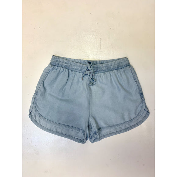 Tencel Drawstring Shorts