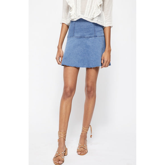 Highlands Denim Skirt