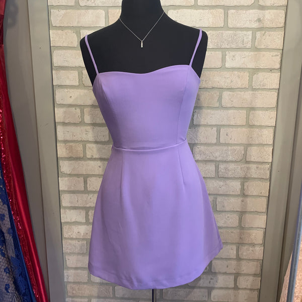 Soft Violet Tie Back Dress