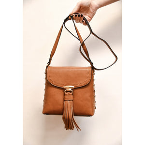 Braided Side Crossbody Bag