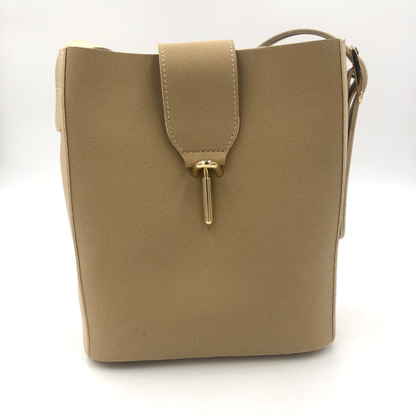 Evie Two Tone Gold Detail Bag