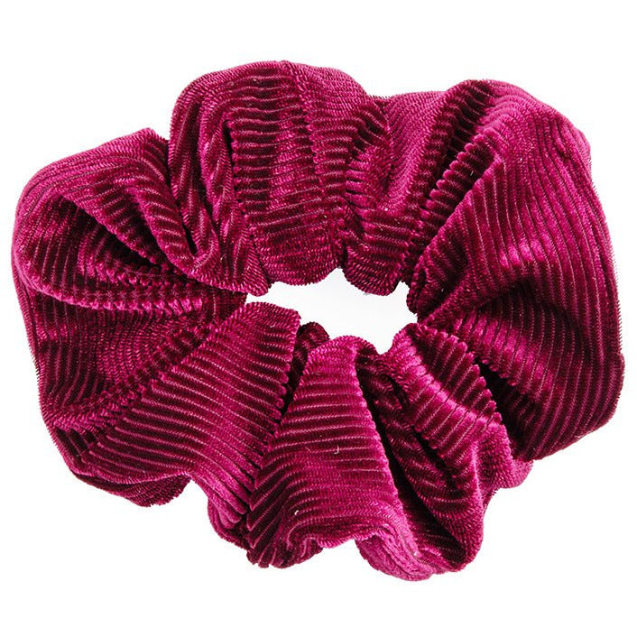 Ribbed Curdoroy Hair Scrunchie