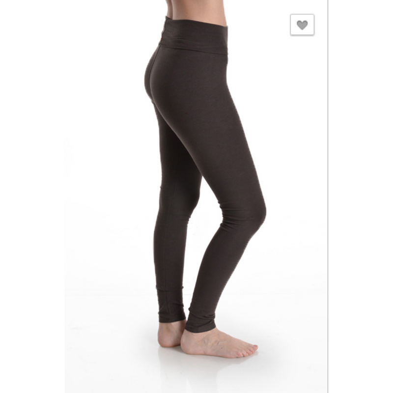 Foldover Waistband Leggings