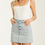 Billabong Cute As Indigo Skirt