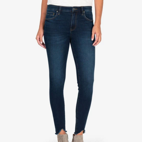 Connie Ankle Skinny High Rise (Resting Wash)