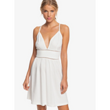 Roxy New Silver Light Strappy Dress