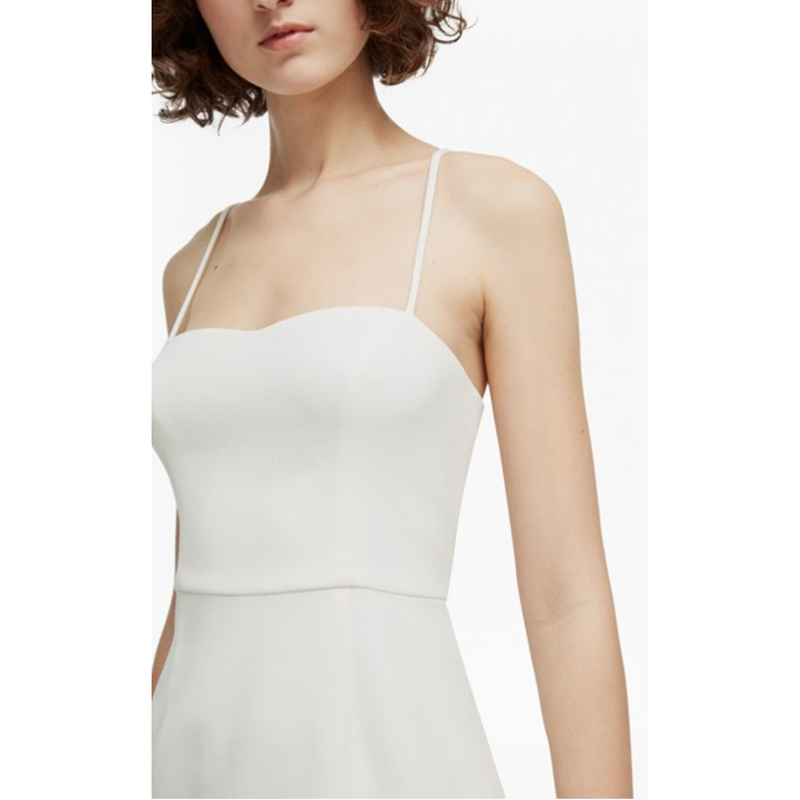 Whisper Light Sweetheart Neck Dress