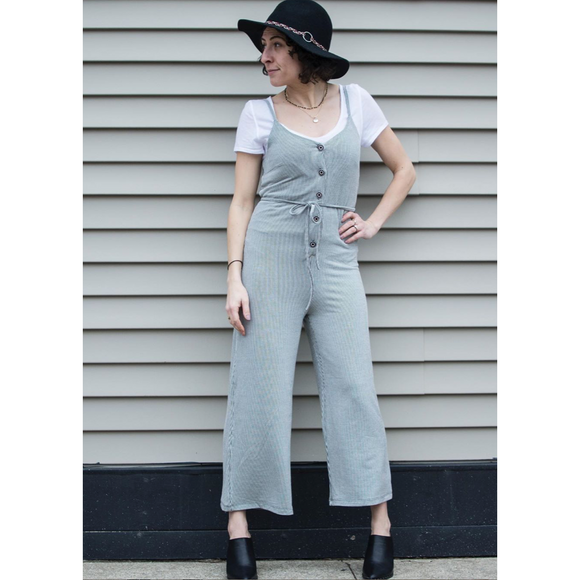 RD Style Stripe Jumpsuit