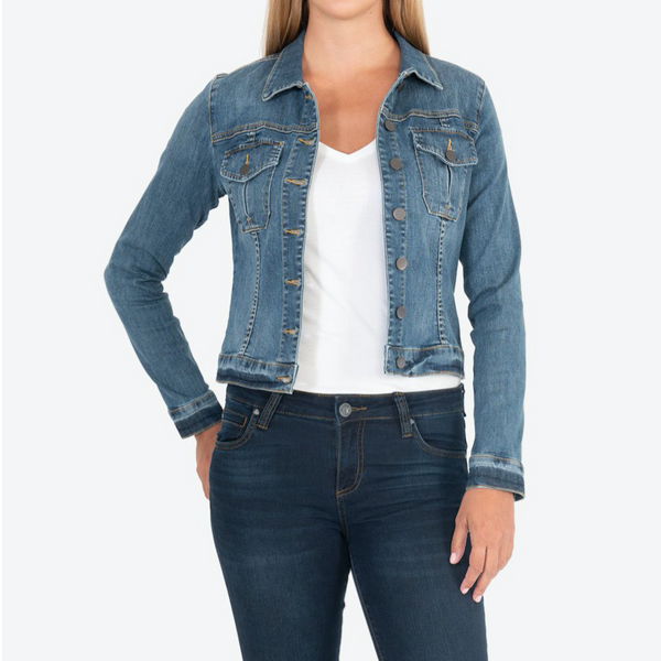 Amelia Denim Jacket Universal w/ Medium Base Wash