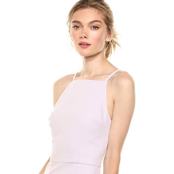 Summer Whisper Light Square Neck Dress