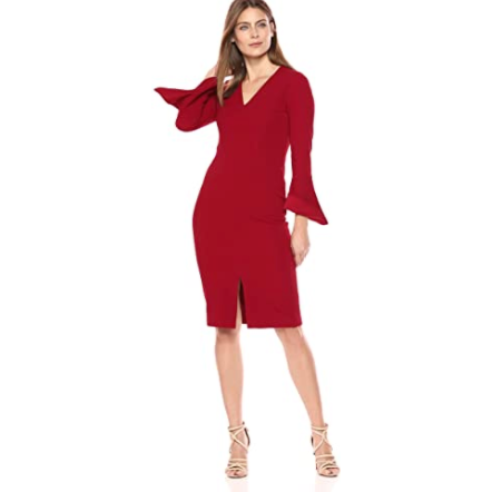 Metro Knit Sheath Dress