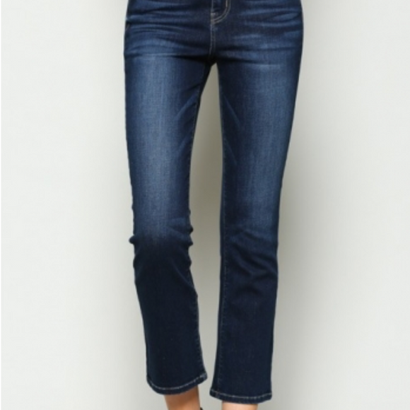 Flying Monkey Cropped Straight Jean