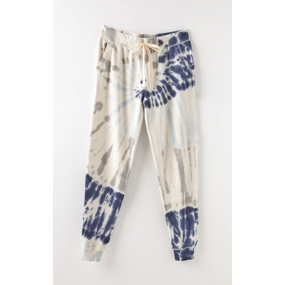 Z Supply Indigo Tie Dye Jogger
