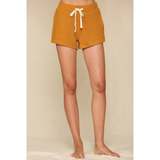 French Terry Side Pocket Shorts