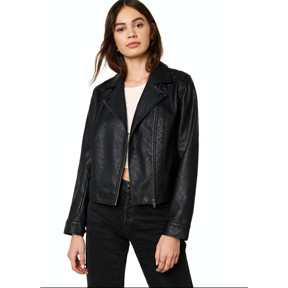 Motor Of Fact Vegan Leather Jacket