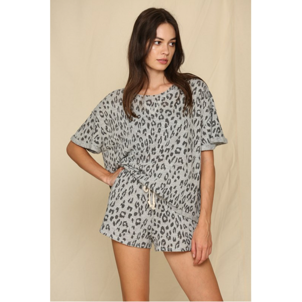 Leopard Hacci Top