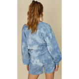 French Terry Tie Dye Sweater