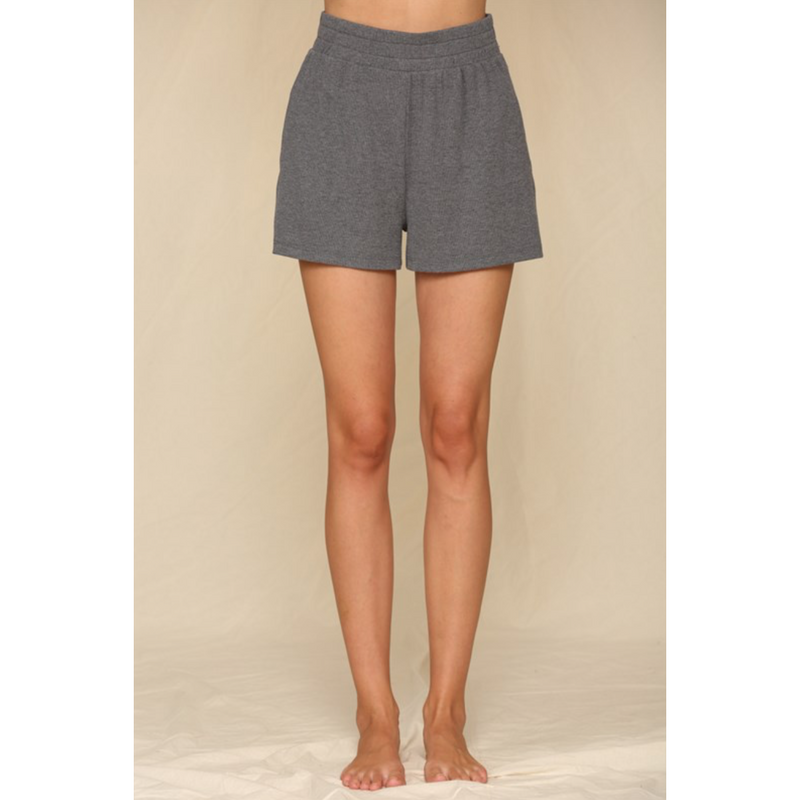 Thick Band Elastic Shorts