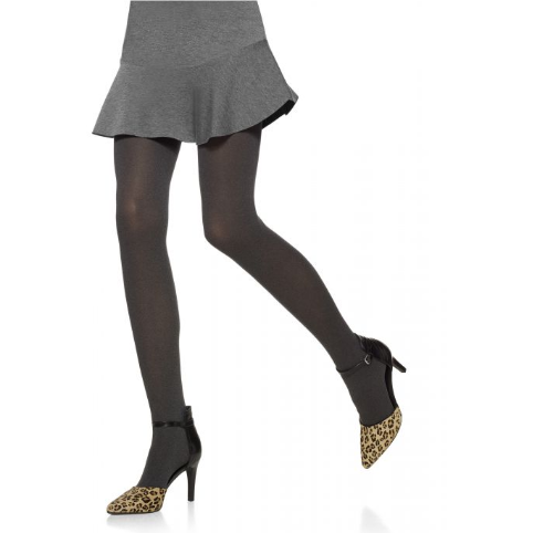 Opaque Tights with Control Top