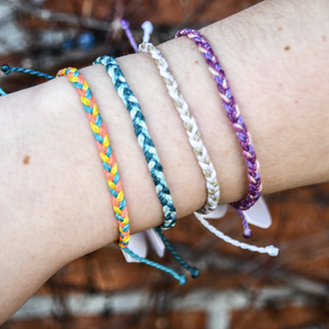 Pura Vida Multi Mini Braided Bracelet