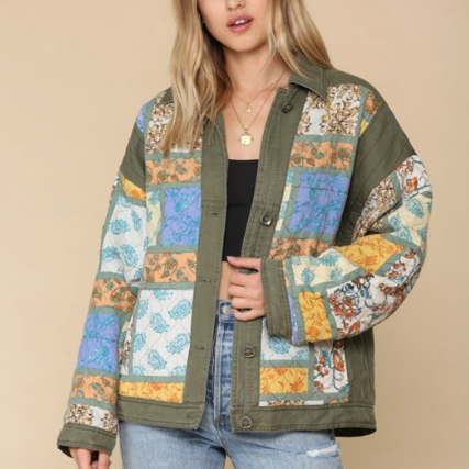 Vintage Quilted Jacket