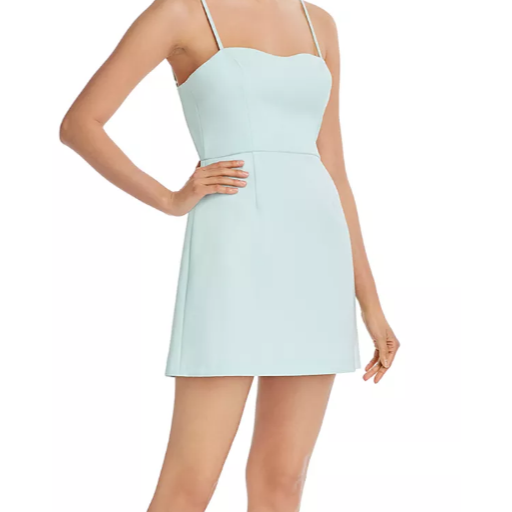 French Connection Whisper Sweetheart Light A-Line Dress