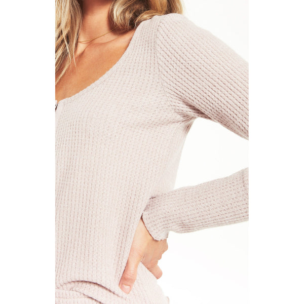 Take It Easy Thermal Henley