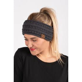 Sherpa Lined Pony Headwrap