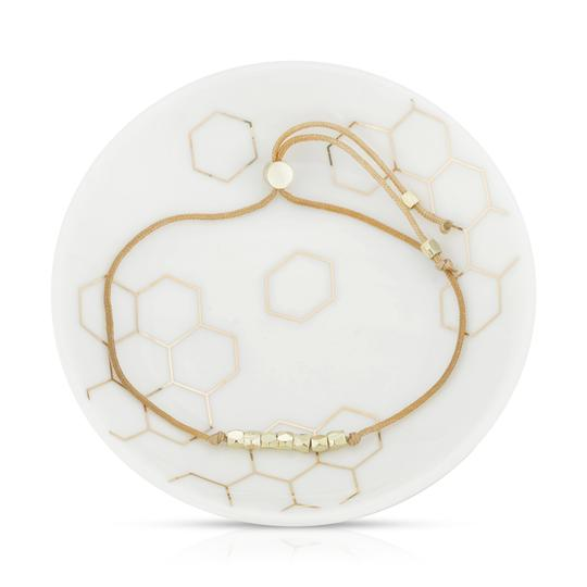 Sweet As Honey Bracelet + Dish Set