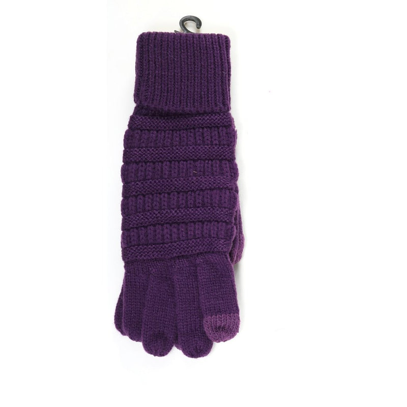 Cable Knit SmartTip Gloves