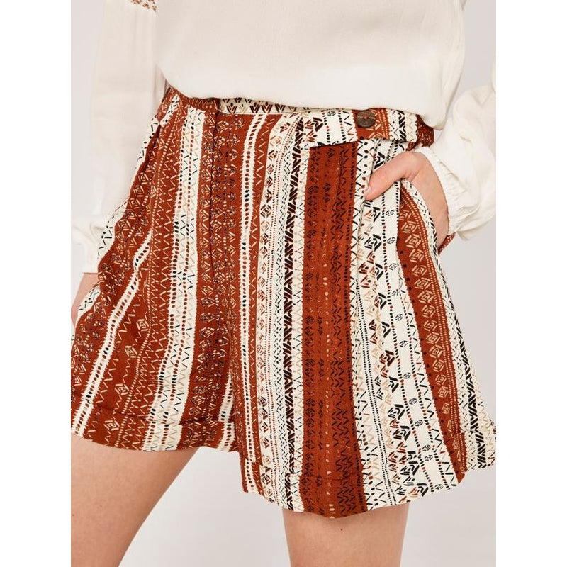 Abstract Batik Shorts