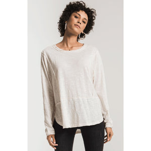 Z Supply Airy Slub Long Sleeve
