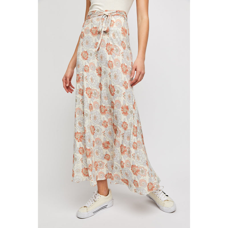 That's A Wrap Printed Maxi Skirt