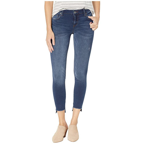 KUT Connie Step-Hem Skinny (Thanks)