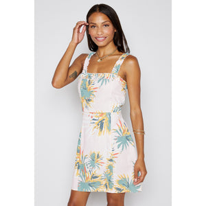 Sadie & Sage Tropical Linen Dress