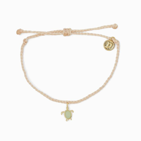 Pura Vida Save The Sea Turtles Charm Bracelet