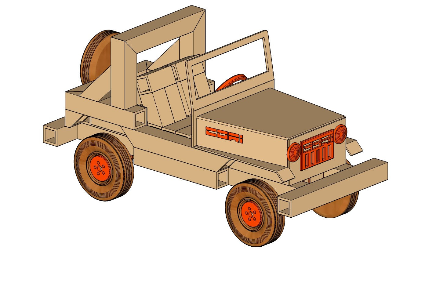 CORI Off Road Vehicle