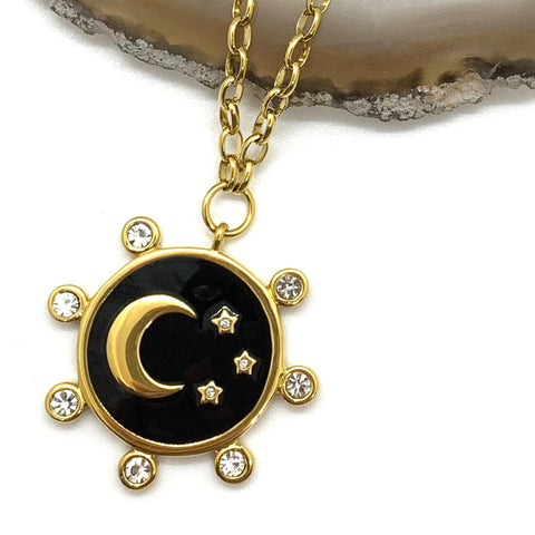 The Stars and The Moon Necklace