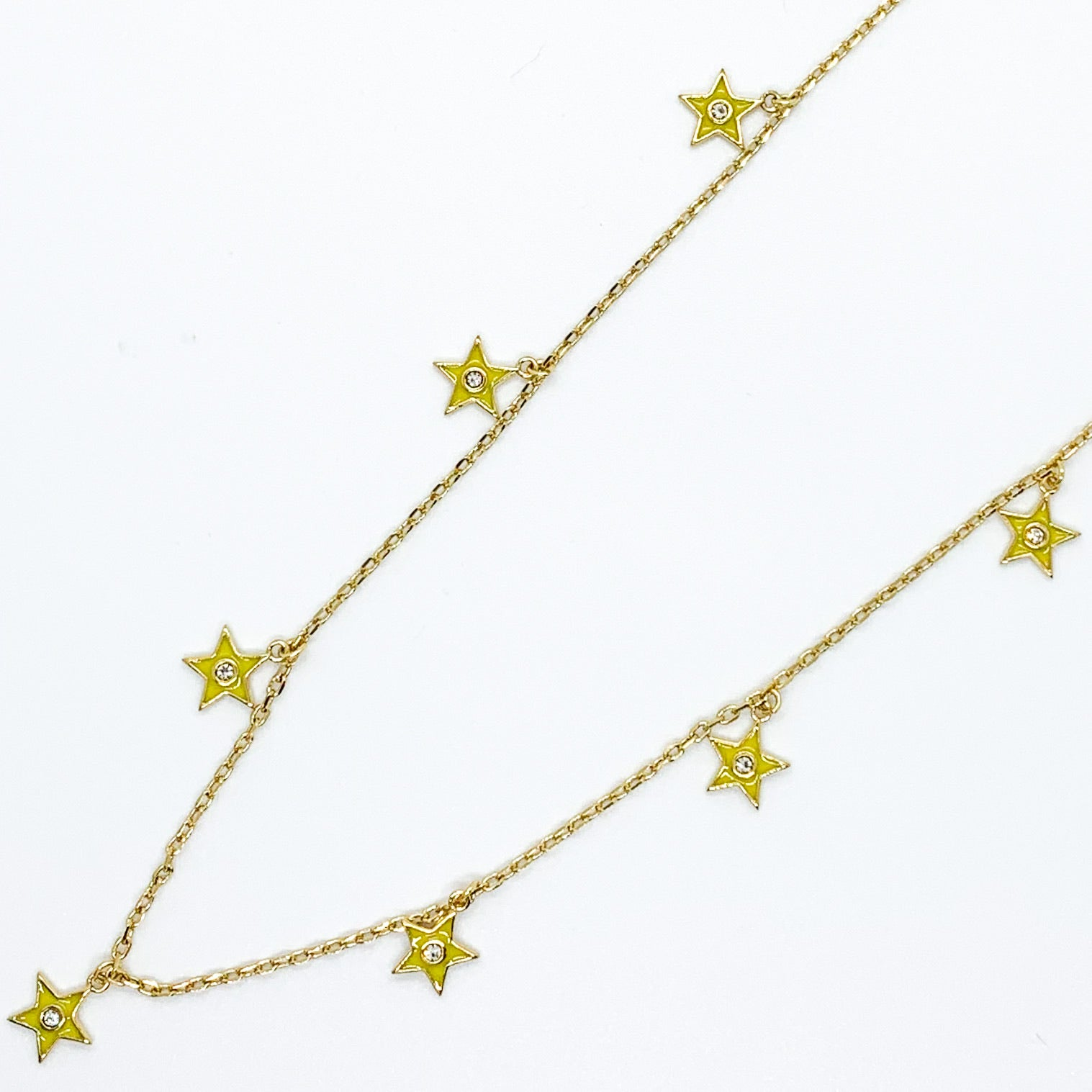 Star of your Life Necklace - Yellow