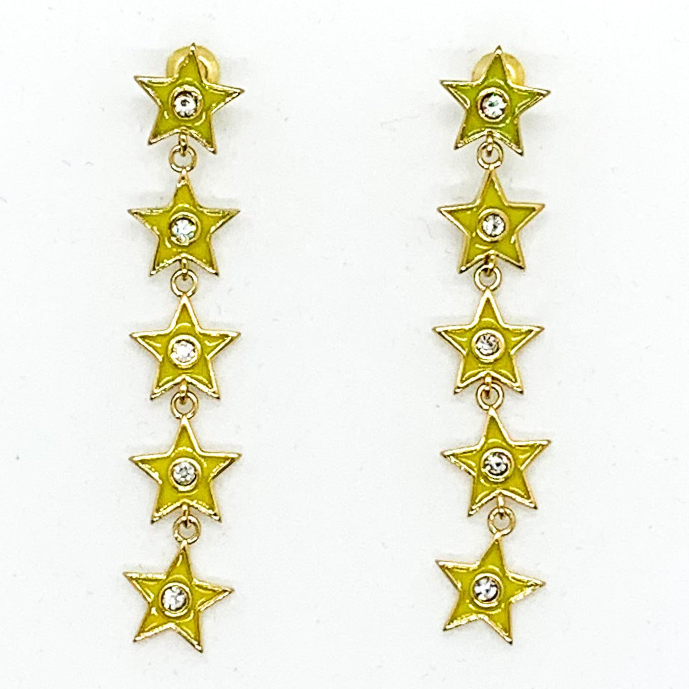 Star of your Life Earrings - Yellow