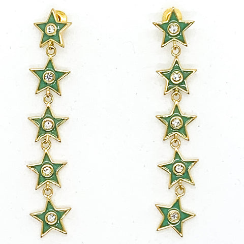 Star of your Life Earrings - Sage